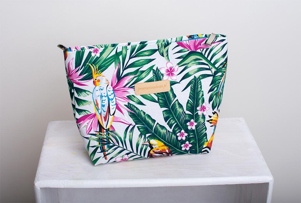 tropikalna kosmetyczka palmy