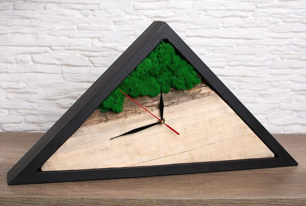 zegar drewniany hand made